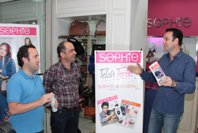 Sunday, New Business Opportunity from Sophie Paris