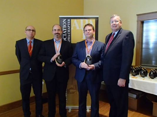 Waukee officials recognized for Kettlestone