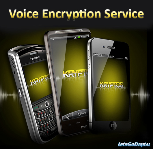 Voice Encryption Service for smartphones