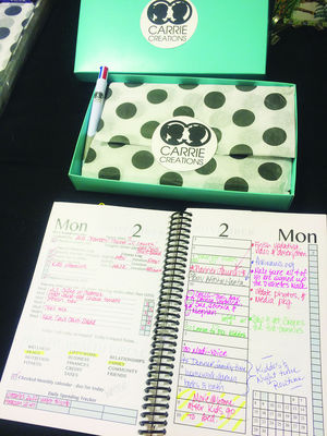 Valley mother develops daily planner to assist others in organizing
