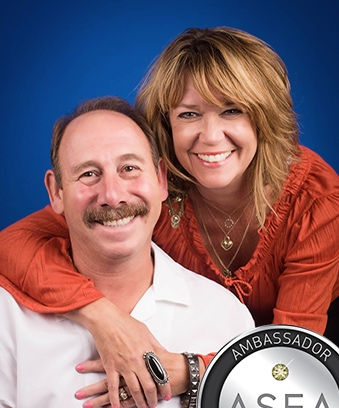 Chuck and Tami Gates Reach ASEA's Ambassador Double Diamond Rank