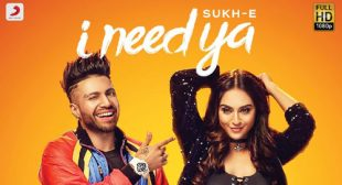 I NEED YA LYRICS – Sukhe – LyricsBELL