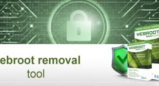 Webroot removal tool