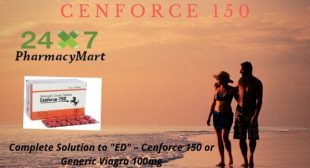 "Complete Solution to ""ED"" – Cenforce 150 or Generic Viagra"