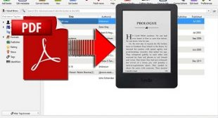 How to Convert a PDF File to Kindle Format