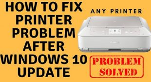 How to Fix Printer Not Working After Windows 10 Update?