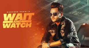 Wait And Watch Lyrics – Manveer Chani